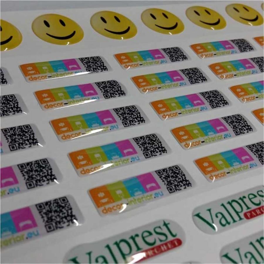 Etichete Volumetrice tiparite digital