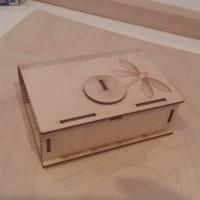 Foto gravura laser pe lemn